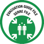 Évacuation guide file